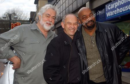 Gunnar Hansen, Doug Bradley and Ken Foree