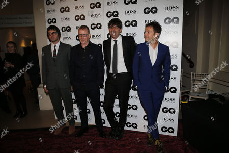 Graham Coxon, Dave Rowntree, Alex James and Damon Albarn of Blur