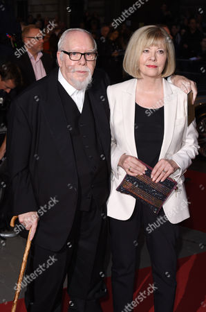 Stock Picture of Sir Peter Blake and Chrissy Blake