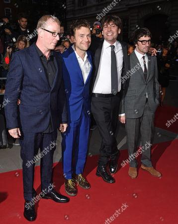 Blur - Damon Albarn, Graham Coxon, Alex James, Dave Rowntree