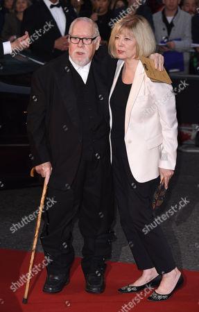 Stock Image of Sir Peter Blake and Chrissy Blake