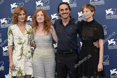 Pier Giorgio Bellocchio, Lidiya Liberman, Alba Rohrwacher, Federica Fracassi
