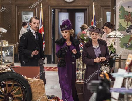 Greg Austin as Gordon, Zoe Wanamaker as Princess Marie and Kika Markham as Lois Selfridge.