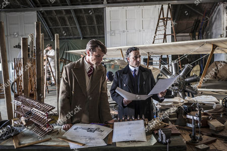 Leon Ockenden as Serge De Bolotoff and Aidan McArdle as Lord Loxley.