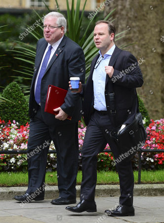 Patrick McLoughlin MP Secretary of State for Transport and Craig Oliver