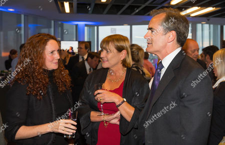 Stock Picture of Rebekah Brooks, Chief executive of News Corp UK and Anji Hunter