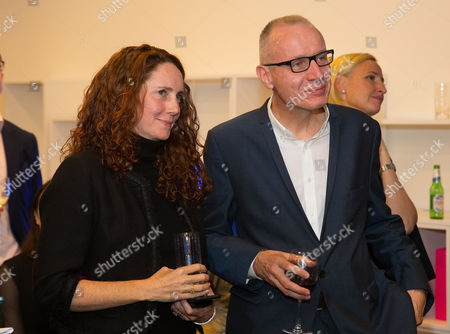 Robert Thomson, Chief Executive of News Corp, and Rebekah Brooks, Chief executive of News Corp UK
