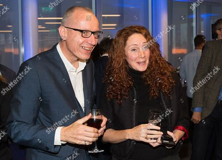 Robert Thomson, Chief Executive of News Corp and Rebekah Brooks chief executive of News Corp UK