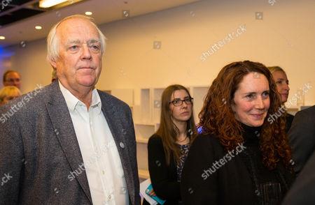 Sir Tim Rice and Rebekah Brooks