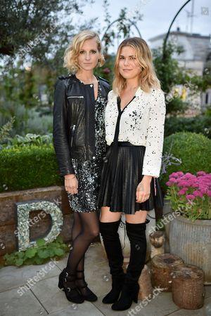 Savannah Miller and Madeleine Shaw