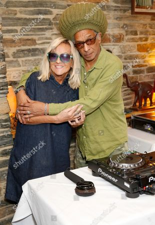 Annie Nightingale and Don Letts