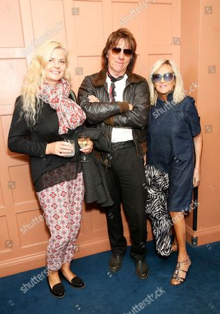 Sandra Cash, Jeff Beck and Annie Nightingale