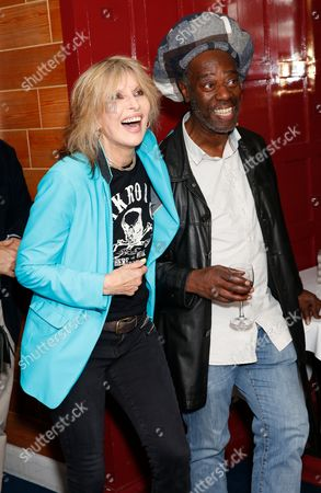 Stock Photo of Chrissie Hynde and Leo Williams