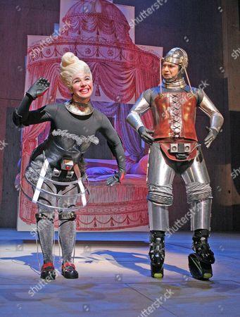 Royal Shakespeare Company production of 'Beauty and the Beast' - 2004 - Sirine Saba and Miltos Yerolemou