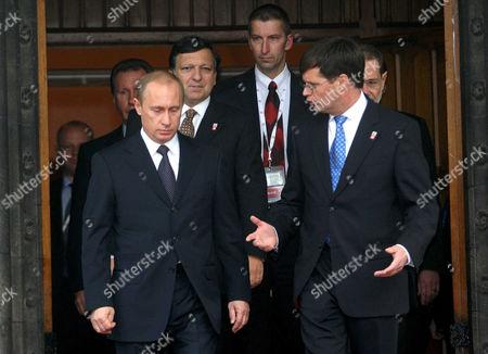 Vladimir Putin and Jan Peter Balkenende