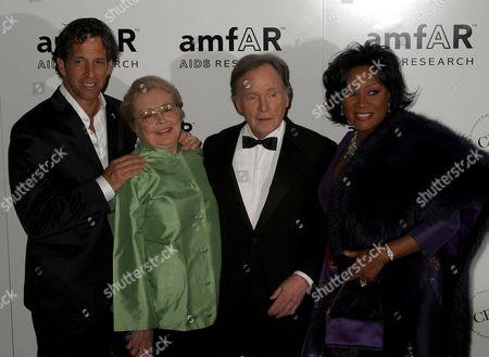 Kenneth Cole, Dr Mathilde Krim, Dick Cavett, Patti LaBelle