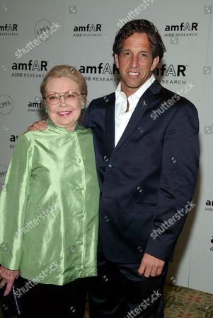 Dr. Mathilde Krim and Kenneth Cole