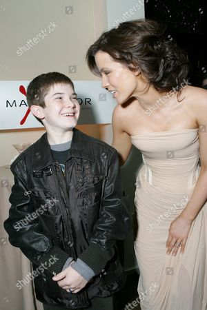 Jacob Davich and Kate Beckinsale