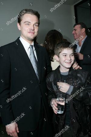 Leonardo DiCaprio and Jacob Davich