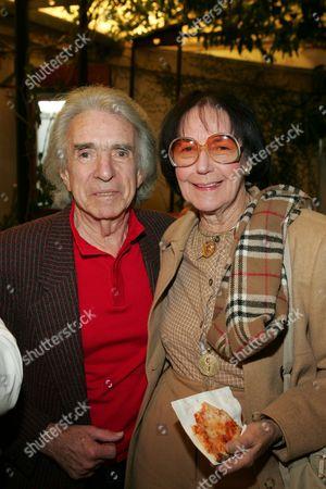 Arthur Hiller and Faye Kanin