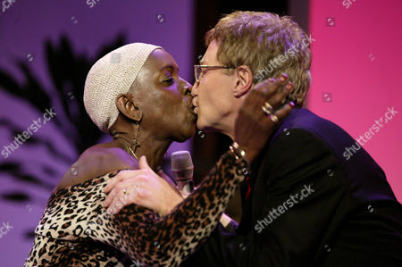 Madeline Bell singing 'Something Stupid' with Paul O'Grady