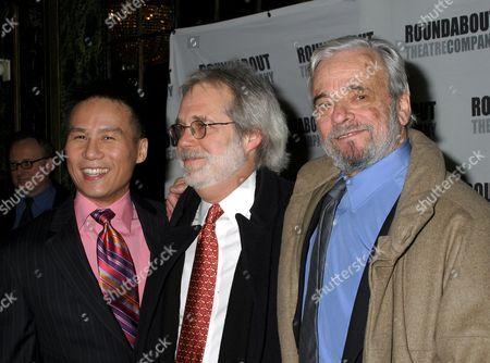 B D Wong, John Weidman, Stephen Sondheim