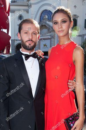 Nicolas Duvauchelle and Anouchka Alsif