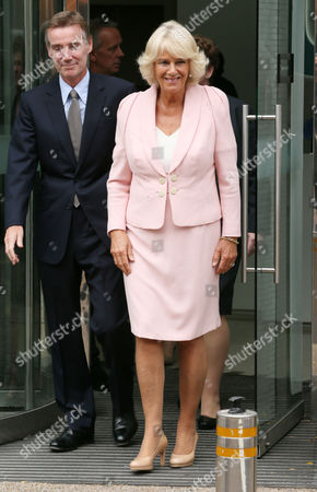 Stock Picture of Adam Crozier and Camilla Duchess of Cornwall