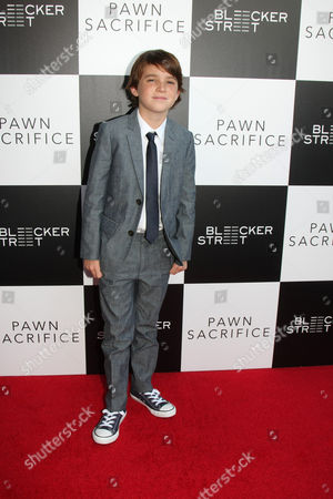 Editorial picture of 'Pawn Sacrifice' film premiere, Los Angeles, America - 08 Sep 2015