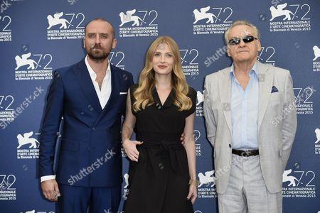Jerzy Skolimowski, Paulina Chapko, Wojciech Mecwaldowski