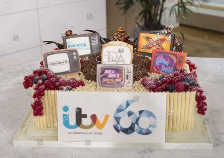 ITV 60th birthday cake baked by This Morning chef Eric Lanlard