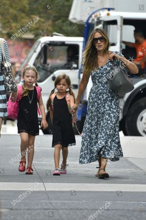 Sarah Jessica Parker and daughters Marion Broderick and Tabitha Broderick