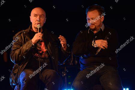 Irvine Welsh and John Niven