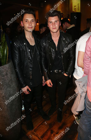 Stock Picture of Danny Wilkin and Charley Bagnall - Rixton
