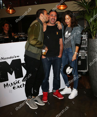 Example with his wife Erin McNaught and DJ Yoda