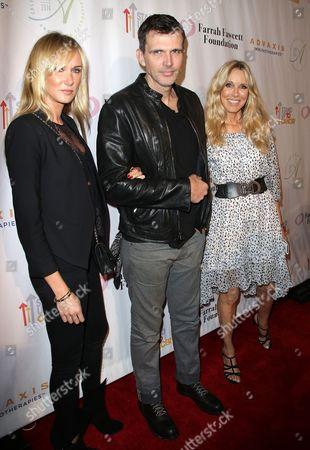 Alana Stewart with Kimberly Stewart and Ashley Hamilton