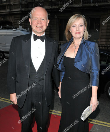 Stock Photo of William Hague and Ffion Hague