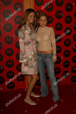 Editorial photo of MOTOROLA 6TH ANNIVERSARY PARTY BENEFITING TOYS FOR TOTS, HOLLYWOOD, AMERICA -  02 DEC 2004