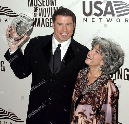 John Travolta and Rochelle Slovin