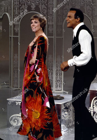 Julie Andrews and Harry Belafonte