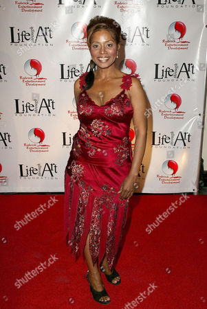 Editorial image of THE RED PARTY BENEFIT FOR LIFE THROUGH ART, LOS ANGELES, AMERICA - 04 DEC 2004