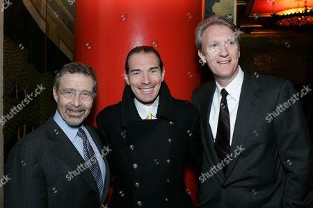 Barry Meyer, Alex Yemenidjian and Chris McGurk