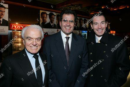 Jack Valenti, Peter Chernin and Alex Yemenidjian