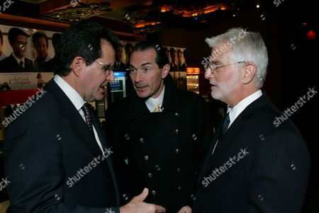 Peter Chernin, Alex Yemenidjian and Robert Friedman
