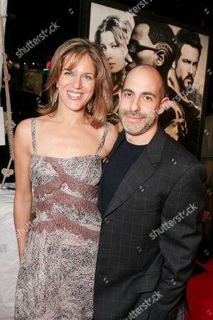 Producer Lynn Harris and Director David Goyer