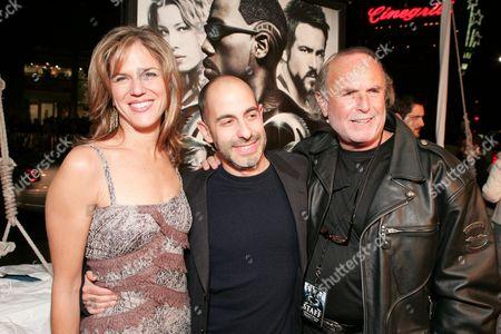 Producer Lynn Harris, Dir. David Goyer, Ex. Producer Avi Arad