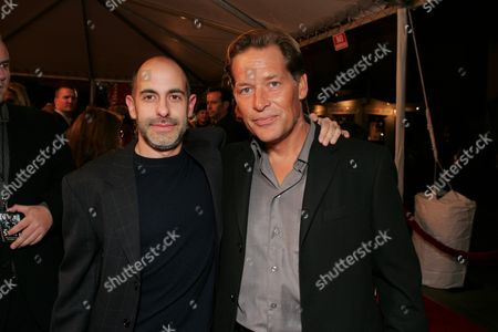 Director David Goyer and James Remar