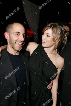Director David Goyer and Jessica Biel
