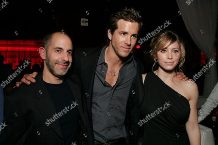 Director David Goyer, Ryan Reynolds and Jessica Biel
