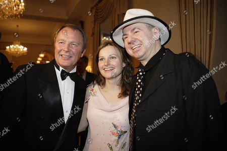 Wine Awards 2006, Kurt Wagner, Helmut Zerlett and companion, Grandhotel Schloss Bensberg, Bergisch Gladbach, North Rhine-Westphalia, Germany